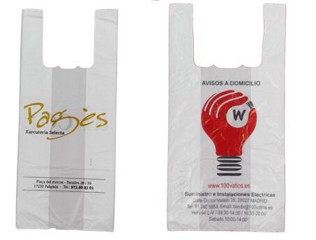 bolsas de plastico personalizadas camiseta barcelona